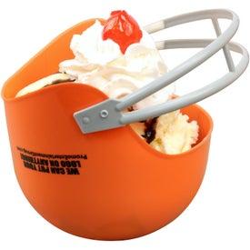 Branded Football Helmet Bowl