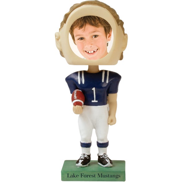 Football Single Bobble Head