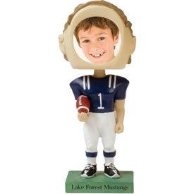 Football Single Bobble Head