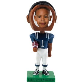 Football Single Bobble Heads