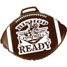 Imprinted Football Stadium Cushion