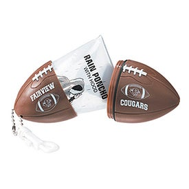 Football with Hook Clip and Poncho