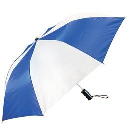 Forecaster Auto Open Folding Umbrella Printed with Your Logo