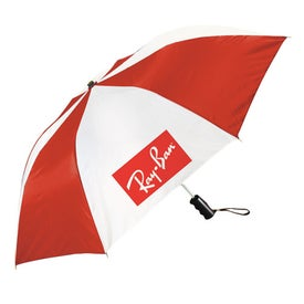 Forecaster Auto Open Folding Umbrella Giveaways
