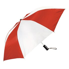 Forecaster Auto Open Folding Umbrella Printed with Your Logo