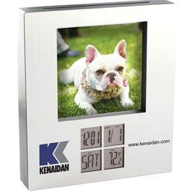 Photo Frame with Alarm Clock