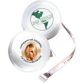Franklin Round Tape Measure (Digitally Printed)