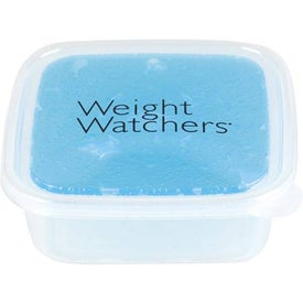 Advertising Freezable Gel Lid Storage Container