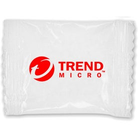 Fresh Pack of Chocolate Mints Imprinted with Your Logo