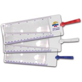 Fresnel Bookmark Magnifier for Your Organization