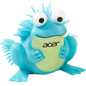 Friendly Frog Puffer Pet with Your Logo