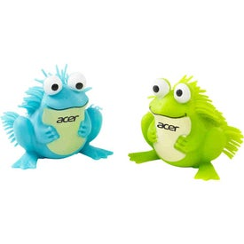 Logo Friendly Frog Puffer Pet