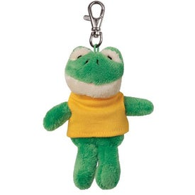 Frog Plush Key Chain
