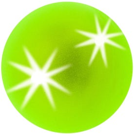 Frosted Light Up Super Ball for Promotion