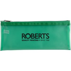 Frosted Pencil Pouch
