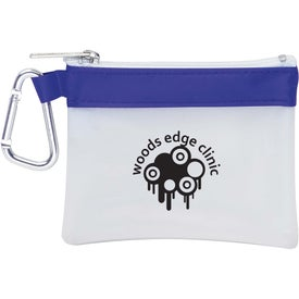 Monogrammed Frosty Stripe First Aid Kit