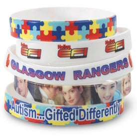 Full Color Photo Wristband