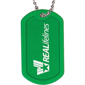 Plastic Dog Tag for Your Company