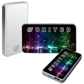 Full Color Power Bank Printed with Your Logo