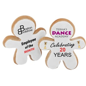 Full Color Teamwork Cookie with Your Logo