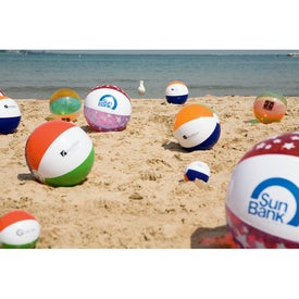 Full Size Inflatable Beach Ball for Marketing