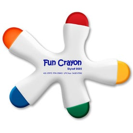 Fun Crayon 5 Color Crayon