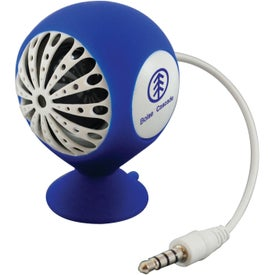 Fusebox Speaker and Phone Holder with Your Slogan
