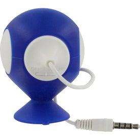 Fusebox Speaker and Phone Holder for Promotion