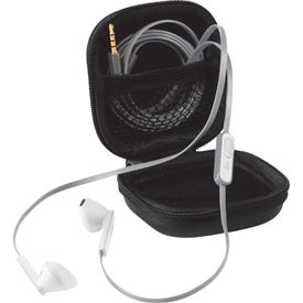 Fusion Ear Buds with Mic for Advertising