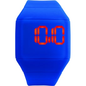 Custom Futuristic Digital Watch