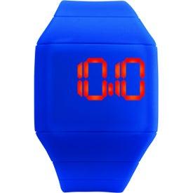 Custom Futuristic Digital Watch