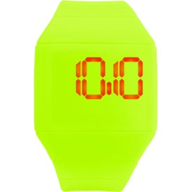 Customized Futuristic Digital Watch