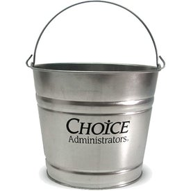 Galvanized Metal Bucket (10 Qt.)