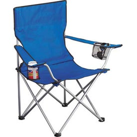 Game Day Event Chair with Your Slogan