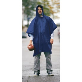 Game Day Poncho Branded with Your Logo