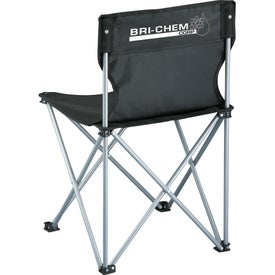 Game Day Sidelines Folding Chair with Your Slogan