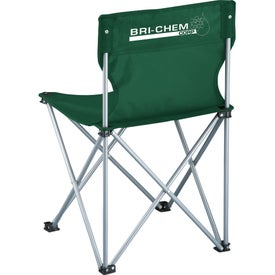 Advertising Game Day Sidelines Folding Chair