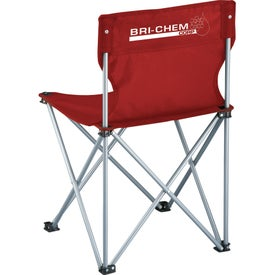 Monogrammed Game Day Sidelines Folding Chair