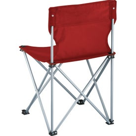 Game Day Sidelines Folding Chair for Advertising