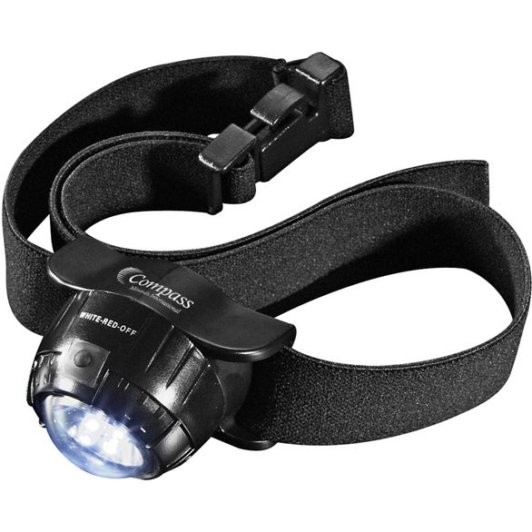 Garrity 3 L.E.D. Headlamp 2 Lithium Battery