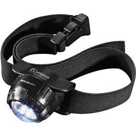 Garrity 3 L.E.D. Headlamp 2 Lithium Battery