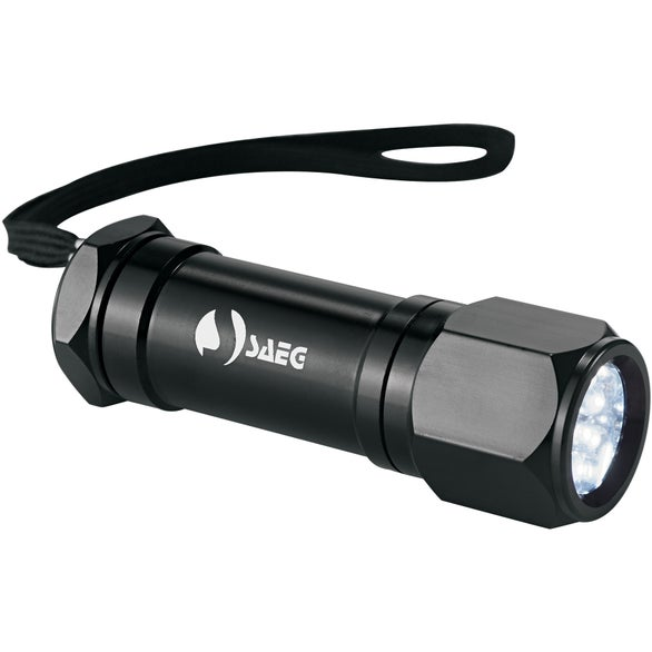 Garrity 8 L.E.D. Alum Superbright Flashlight