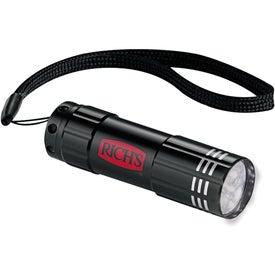 Logo Flare 9 LED Flashlight