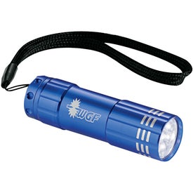 Flare 9 LED Flashlight Branded with Your Logo
