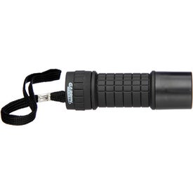 Garrity 9 L.E.D. Flashlight Imprinted with Your Logo