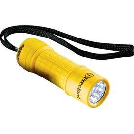 Garrity 9 L.E.D. Flashlight Branded with Your Logo