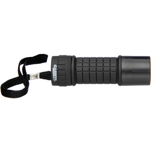 Black Garrity 9 LED Flashlight