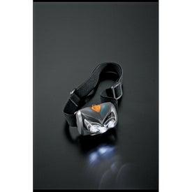 Branded Garrity 1 Watt Luxeon LED Pivoting Headlamp
