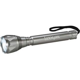 Garrity Mega Tactical Dual Output Flashlight Printed with Your Logo