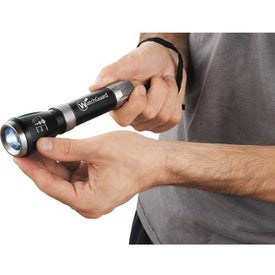Customized Garrity Mega Zoomin 1 Watt Flashlight